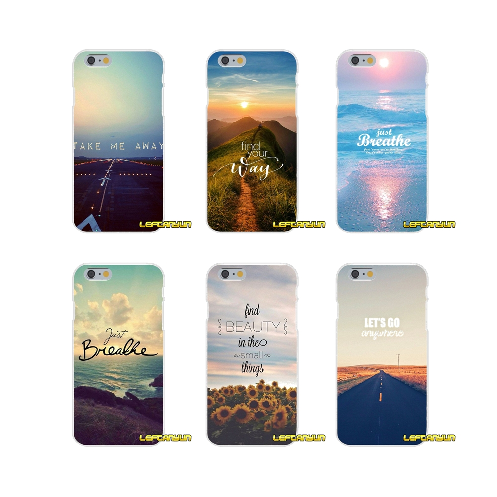 For Xiaomi Redmi 3 3S 4A 5A Pro Mi4 Mi4C Mi5S Mi6X Mi Max2 Note 3 4 5A Scenary Travel Breathe On The Way Accessories Case Covers