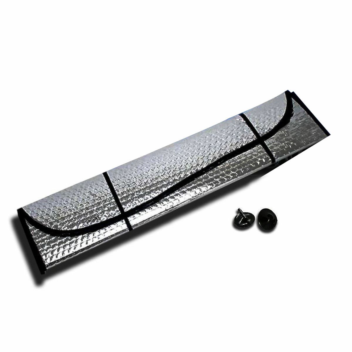 Foldable For Car Windshield Sunshade Reflective Sun Shade Visor Cover 160*60CM-in Windshield Sunshades from Automobiles & Motorcycles