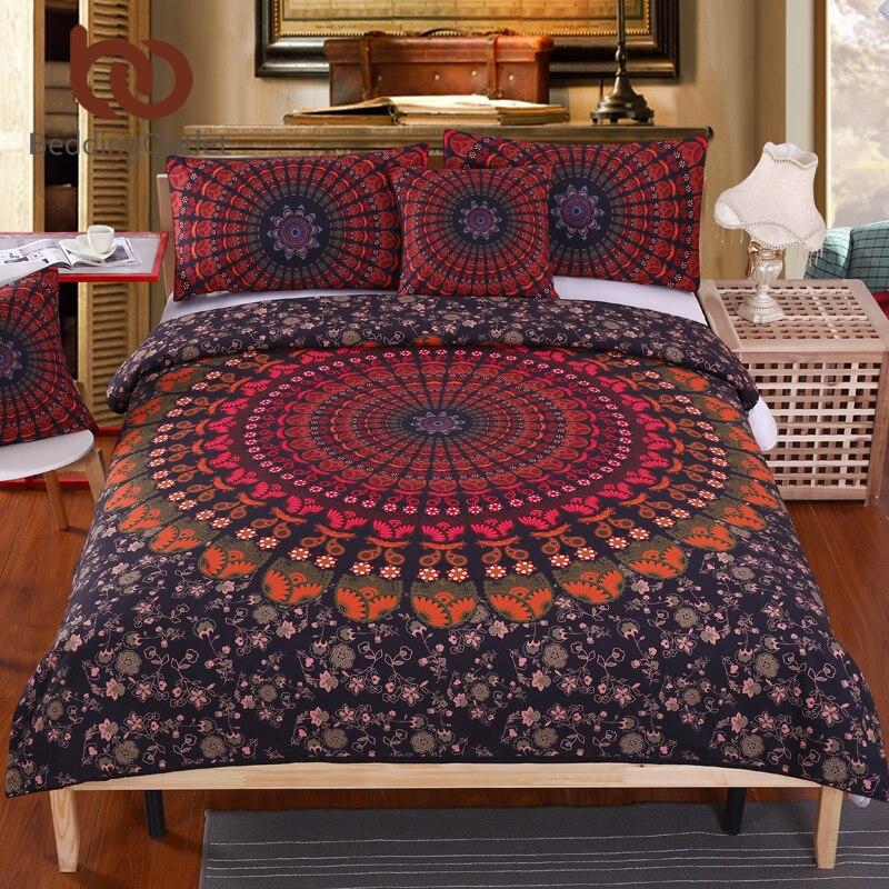 BeddingOutlet Mandala Bedding Set Concealed Bedspread