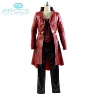 2016 Avengers Captain America Civil War Scarlet Witch Cosplay Costume Wanda Outfit Halloween Party For Adult Women