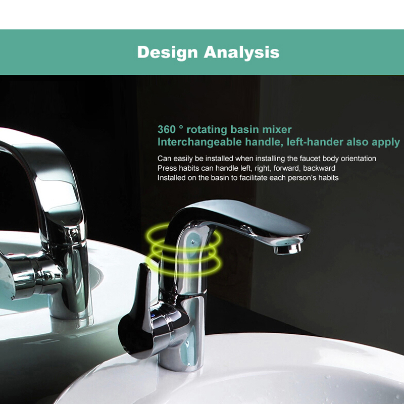 BAKALA modern washbasin design Bathroom faucet mixer waterfall Hot and Cold Water taps for basin of bathroom F-6136 цена