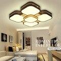 Led Warm Square Creative Modern Led Ceiling Lights Dining Table Bedroom Crystal Led Ceiling Lamp Home Decor 220V Lighting
