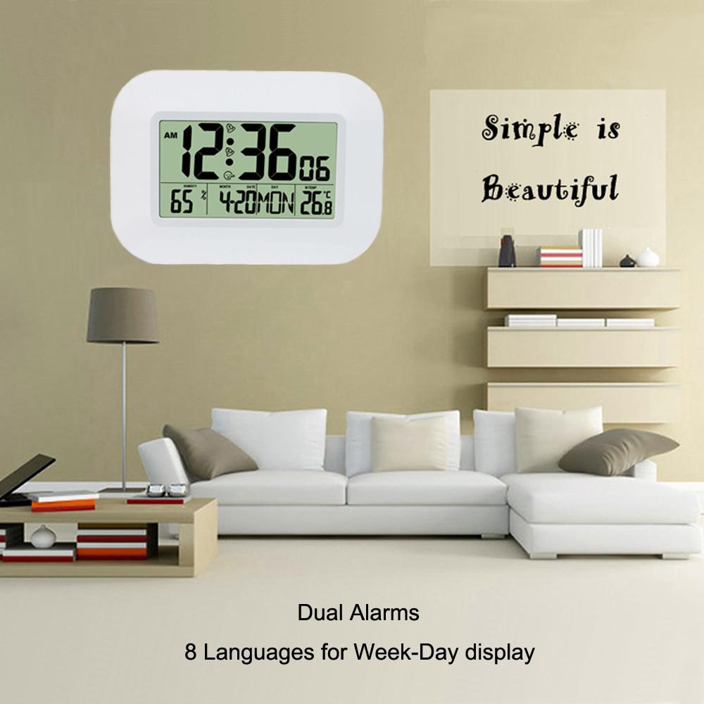 Ψηφιακό ψηφιακό ρολόι ρολογιών - Διακόσμηση σπιτιού - Φωτογραφία 3