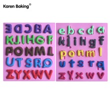 Set English Letter Shape Fondant Cake Decorating