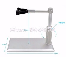 Cheapest prices Universal USB Digital Microscope silver Metal Aluminium Stand Holder Lifting and rotation