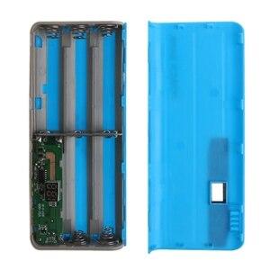 Image 4 - Cargador de batería de litio, 5x18650, pantalla LCD, bricolaje, caja de Banco de energía, linterna, caja externa
