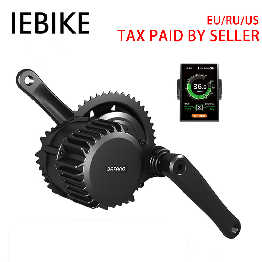 48V 1000W Bafang Mid Drive DIY Ebike Electric Bike Engine Electric Motor Bike Conversion Kit