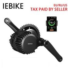 48 в 1000 Вт Bafang Mid Drive DIY Электрический велосипед Ebike двигатели для автомобиля велосипедный электромотор Conversion Kit