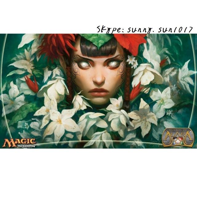 Mayael o Anima tapetes cartão Mágico the Gathering MTG jogo playmat cartas de poker playmats jogo mat mesa pad tapete de borracha mágica ferramenta