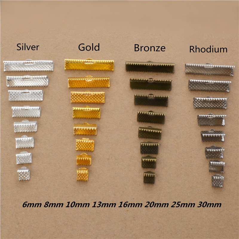 Findings-Components Buckle Fasteners Clasp Ribbon-Cord Jewelry Cap-Crimps-Beads-Clips