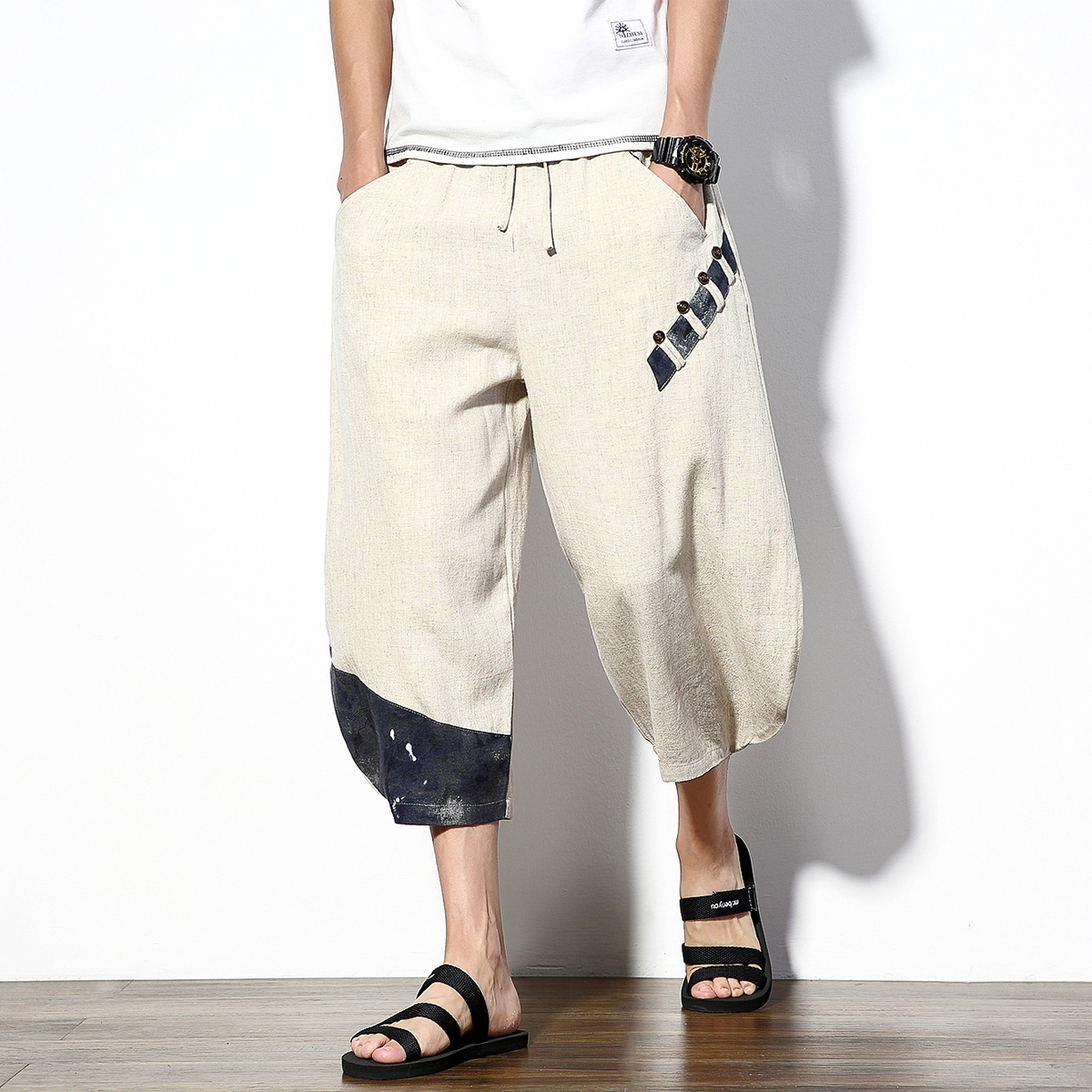 Popular Ankle Pants Men-Buy Cheap Ankle Pants Men lots from China ...