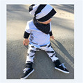 Baby Boy clothes  Set  Newborn summer T-shirt and pants children letters  2pcs set  pineapple printed baby boys clothing    ST66