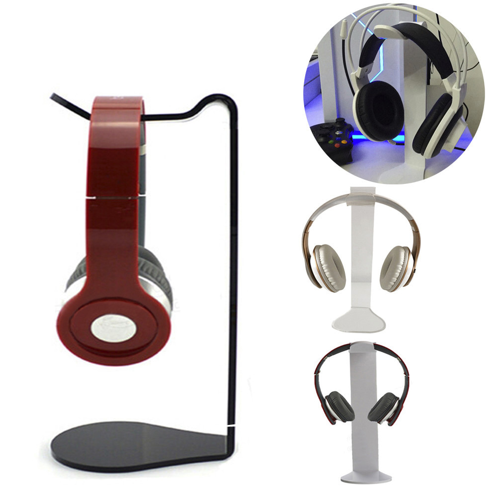 CARPRIE Universal Acrylic Headphone Stand Headset Holder Display Hanger For Sony AKG for Gaming Headset