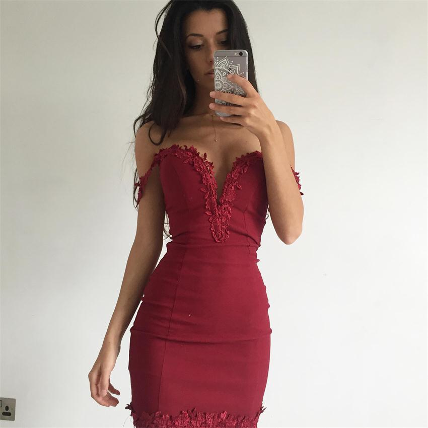 HTB1CkrYRpXXXXcTXXXXq6xXFXXXh - FREE SHIPPING Women Summer Mini Sexy Dress V Neck Sleeveless  Lace  Hollow Out Party Bandage JKP247