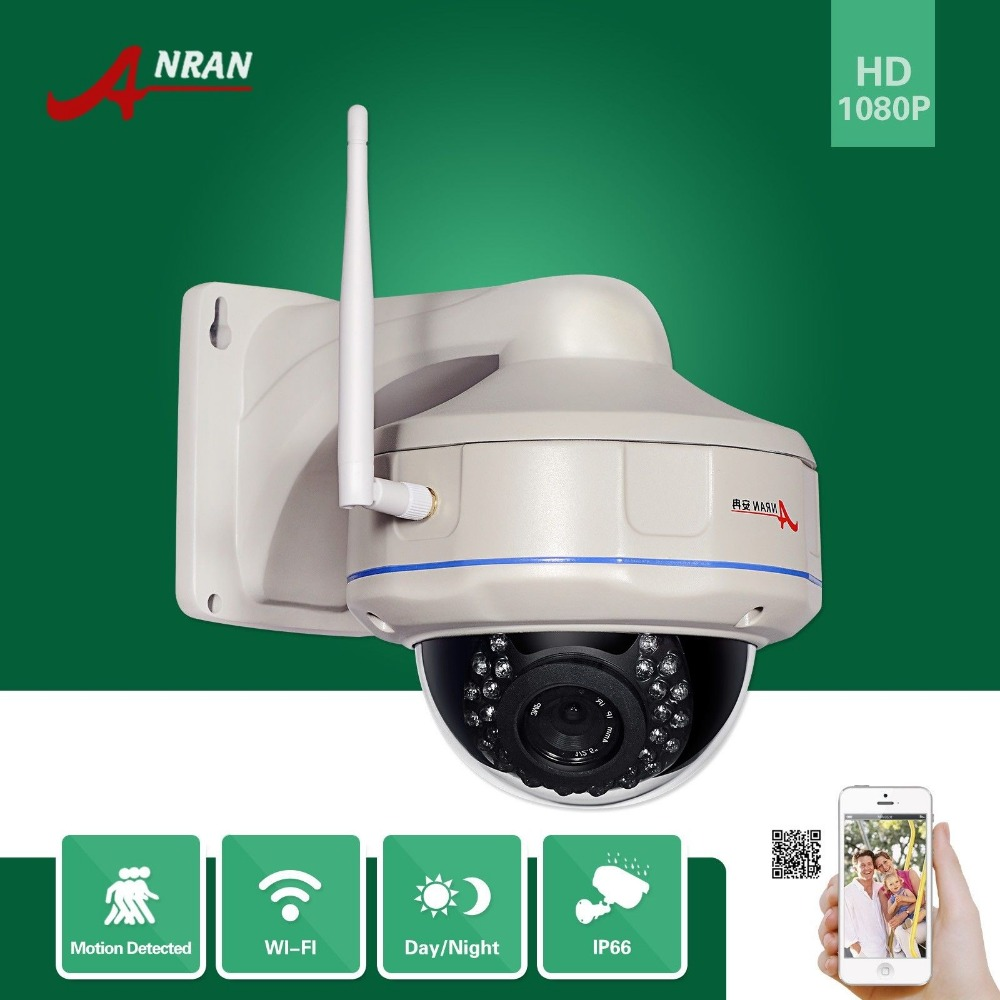 ANRAN Onvif H 264 Sony Sensor 1080P 1920x1080 25fps WIFI Network Wireless IP Camera Vandalproof 30IR