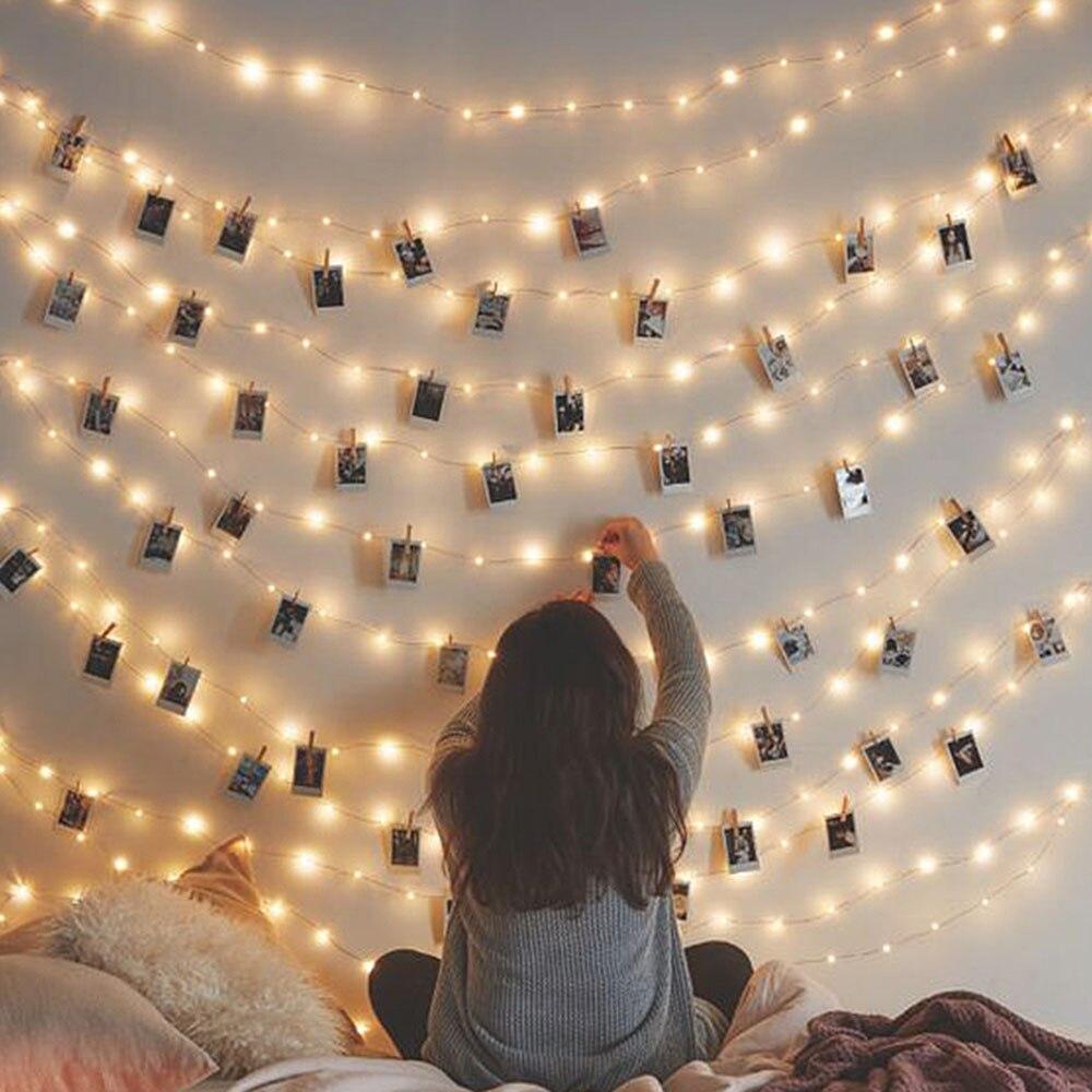 ANBLUB 1.5M 2M 3M Photo Clip Holder LED String lig...