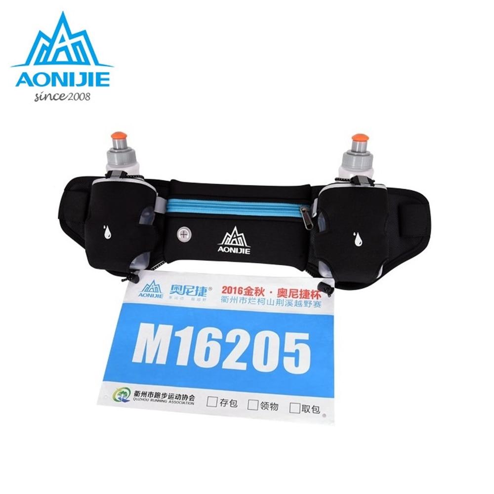 Aonijie Running Waist Pack Outdoor Sports Hiking Racing Gym Fitness Hydration Backpack C930 15l Trail Marathon Blue Sport Cross Country Bag Lightweight Belt Water