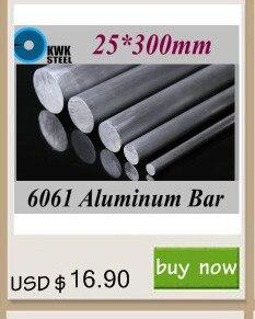 18*300mm de alumínio 6061 barra redonda de