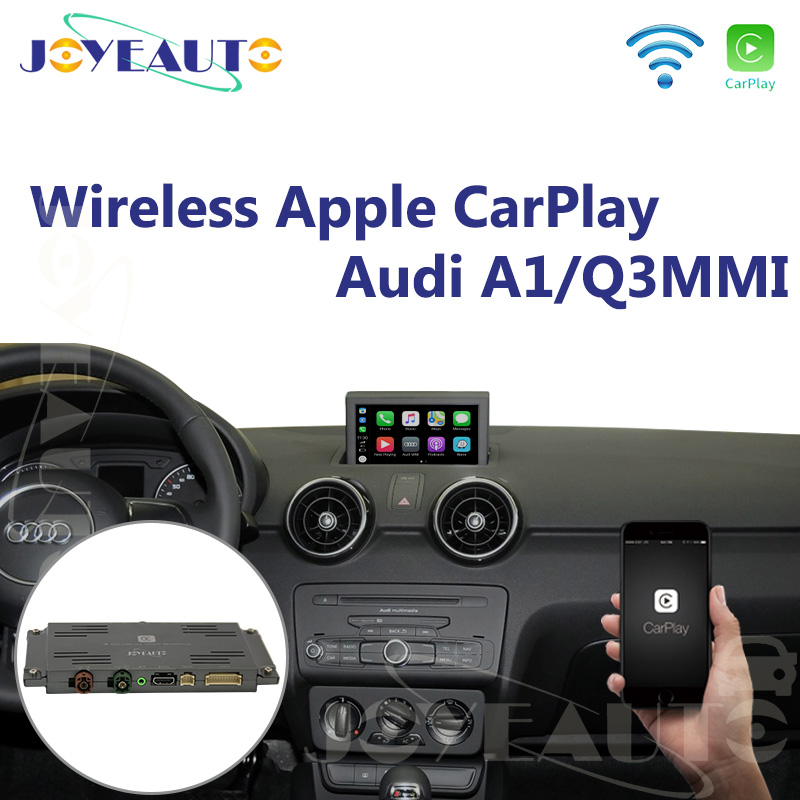Joyeauto Aftermarket A1 Q3 MMI RMC OEM Wifi Wireless Apple CarPlay Interface Retrofit for Audi with Touch Screen Reverse CameraJoyeauto Aftermarket A1 Q3 MMI RMC OEM Wifi Wireless Apple CarPlay Interface Retrofit for Audi with Touch Screen Reverse Camera