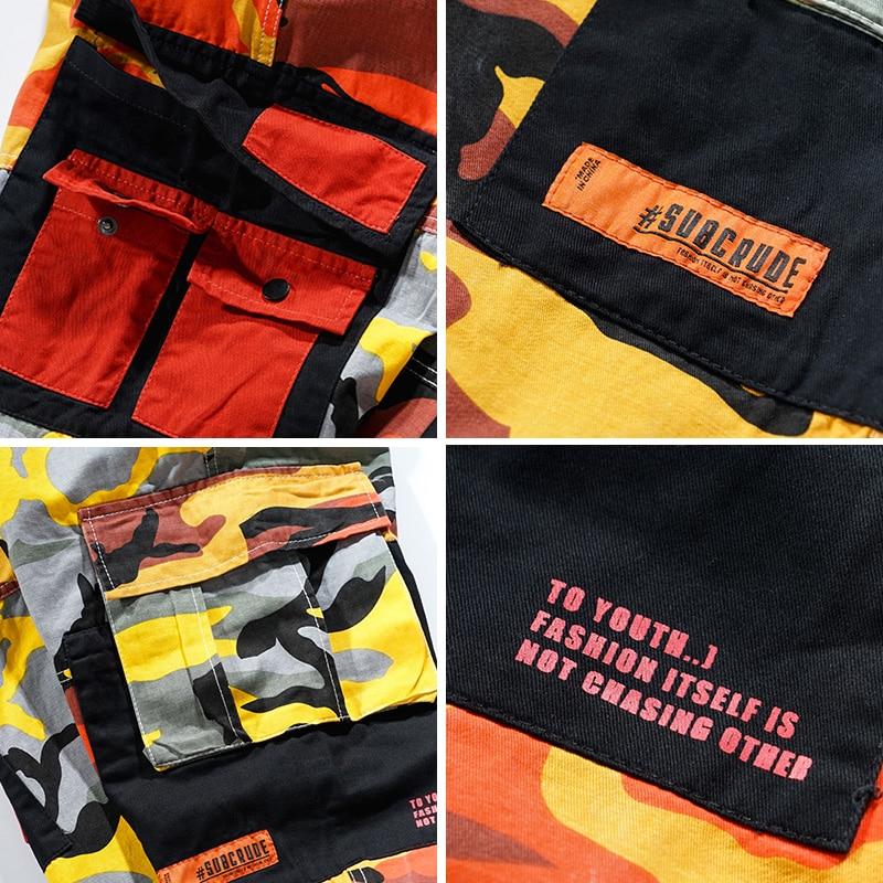 Japonaise Pantalon Casual Mode Pantalon De Jaune D'origine Hommes Camouflage Wear YSwxOOaq