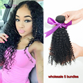 Mongolian Kinky Curly Hair 5 pcs lot Mongolian Afro Kinky Curly Virgin Hair Big Soft Curly 7A Unprocessed Virgin Curly Hair