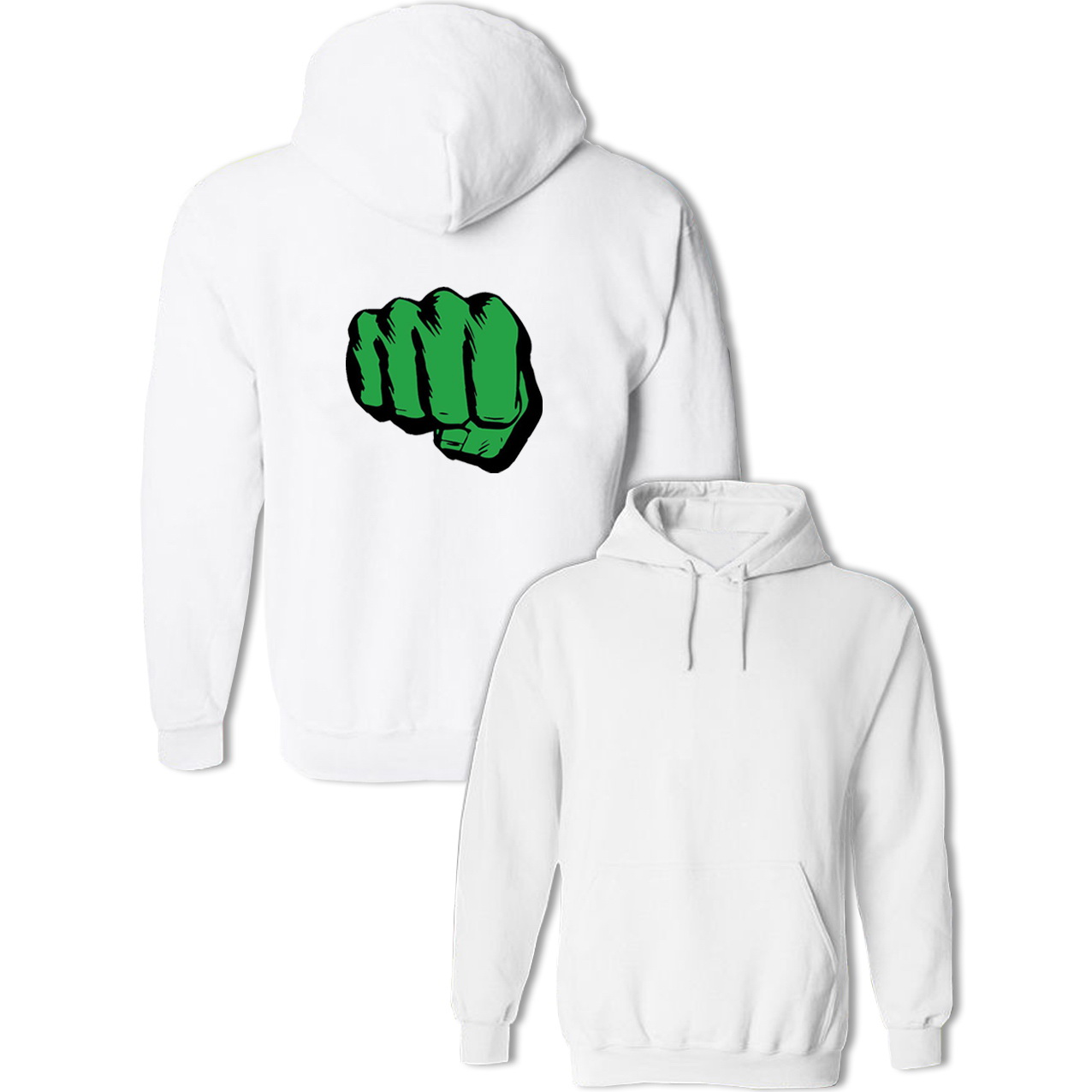 Incredible Hulk Fist Graphic Hoodie Mens Womens Boys Girls Sweatshirts Funny Design Cotton Pullovers Tops Hip Hop Jackets