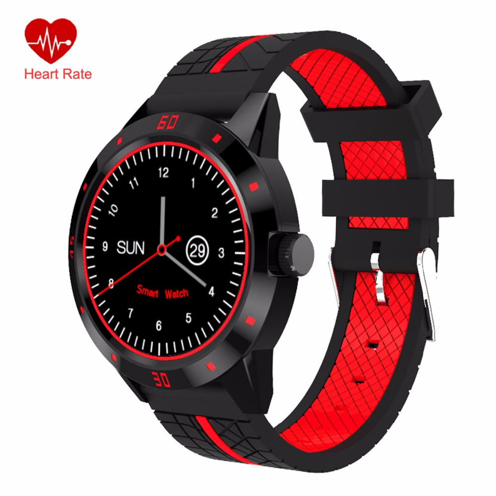 Fitness Tracker Smart Watch Heart Rate Monitor Sport Wristwatch with Pedometer Step Counter N6 Dial Smartwatch for Men and Women 2016 hot sale home automation remote control touch switch wall switched eu standard 3gang 2way white crystal glass panel