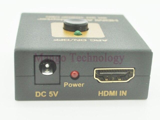 Высокое качество HDMI ARC Адаптер Позволяет Отображать (Audio Return Channel) HDMI 1.4 Кабель ЦИК Аудио (Toslink) Выходной сигнал 4 К X 2 К