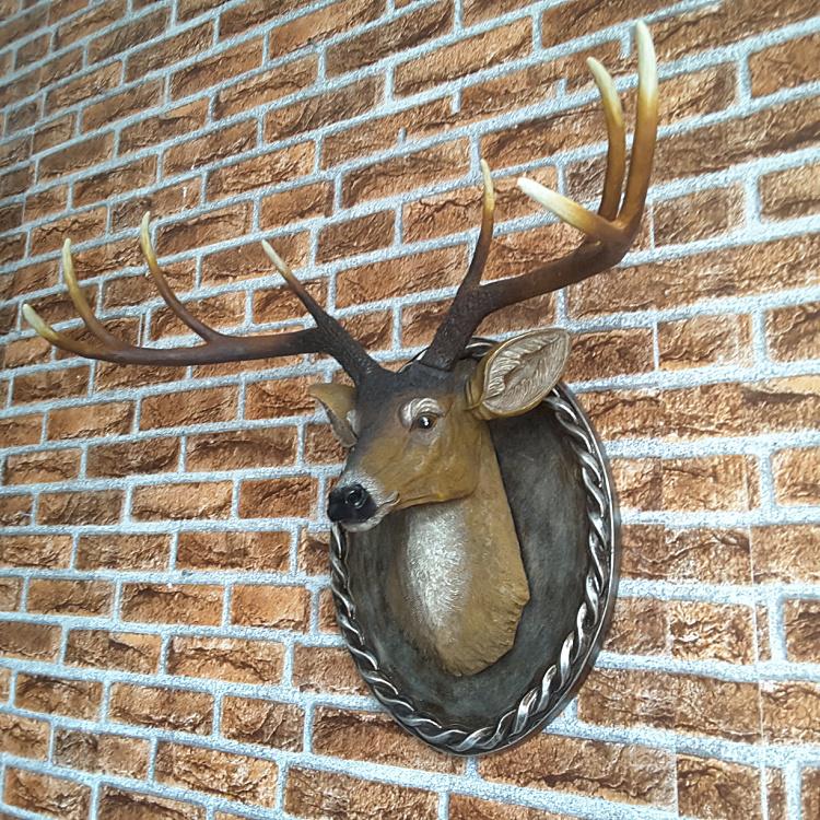 Wall murals ornaments deer wall decoration wall decoration style retro antlers special offer promotionsWall murals ornaments deer wall decoration wall decoration style retro antlers special offer promotions