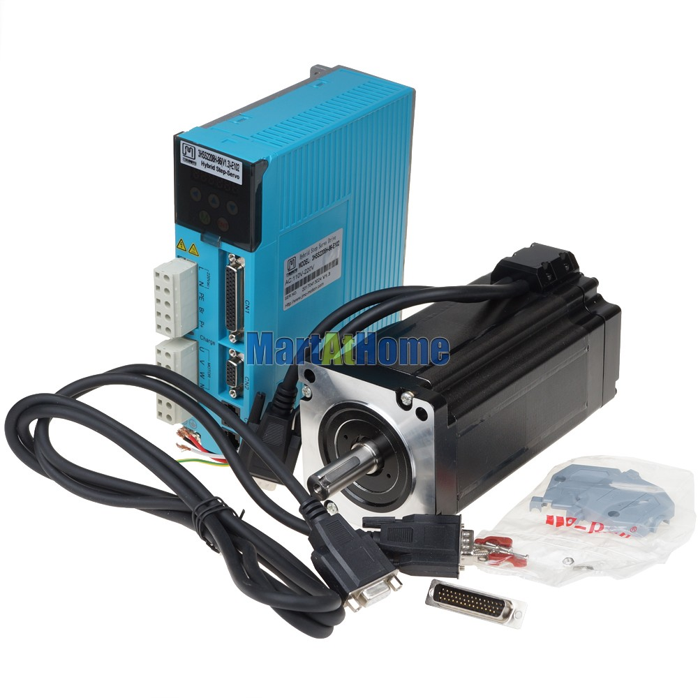 3 Phase 1500rpm 7.8N.m 220V AC CNC Stepper Motor Driver Kits Full ...