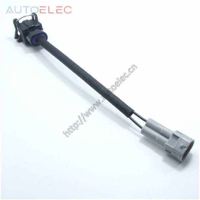 US $2.0 |DELPHI ev1 to Nippon Denso male RC Fuel Injector Wiring Clips Wiring Clips on