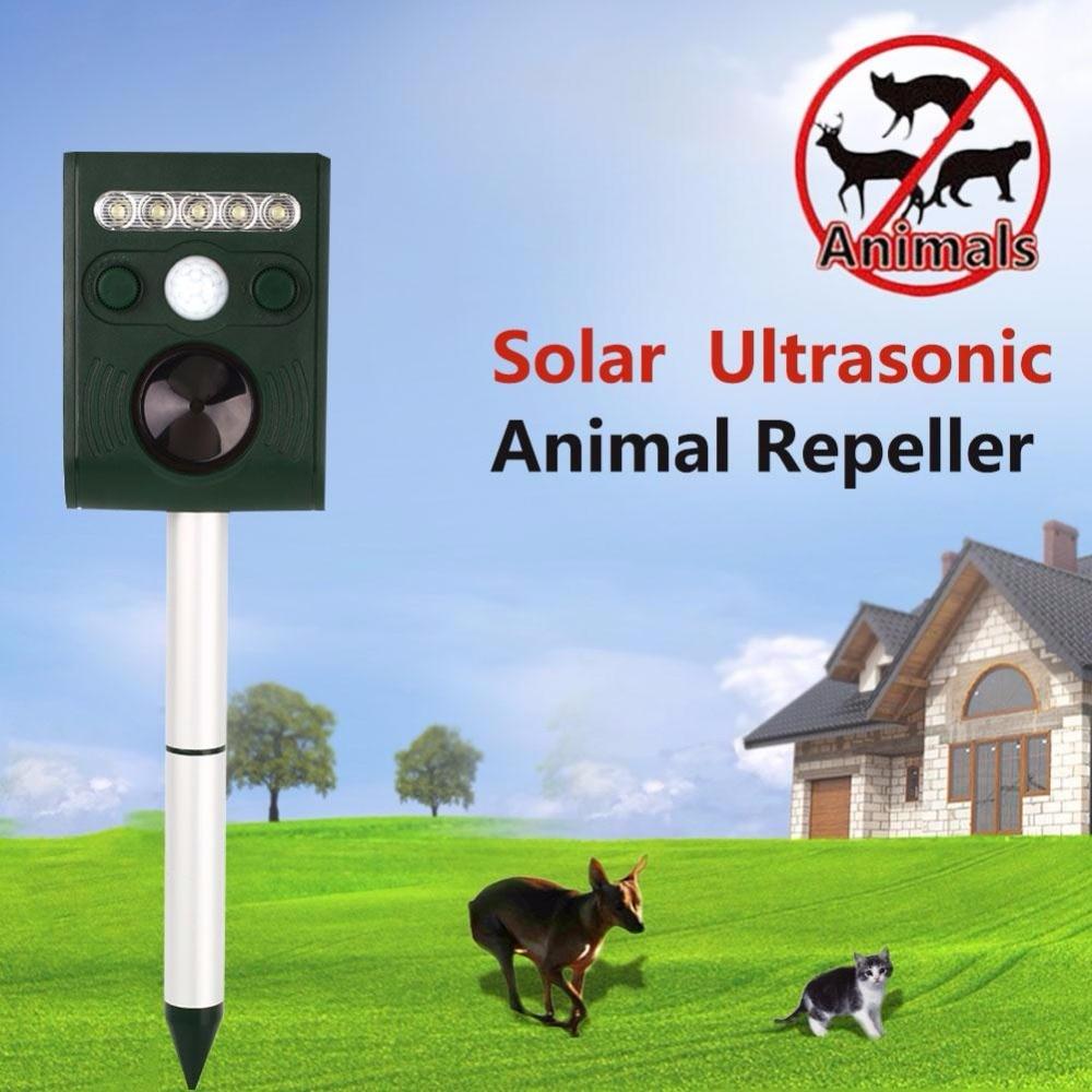Solar Mice Mole Repeller Ultrasonic Bird Repeller Animal Pest Reject Bird Repellent Insect Killer Snake Repellent mosquito