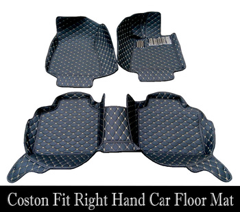 Custom fit car floor mats right hand drive for BMW 3/4/5/6/7 Series GT M3 X1 X3 X4 X5 X6   rug liners