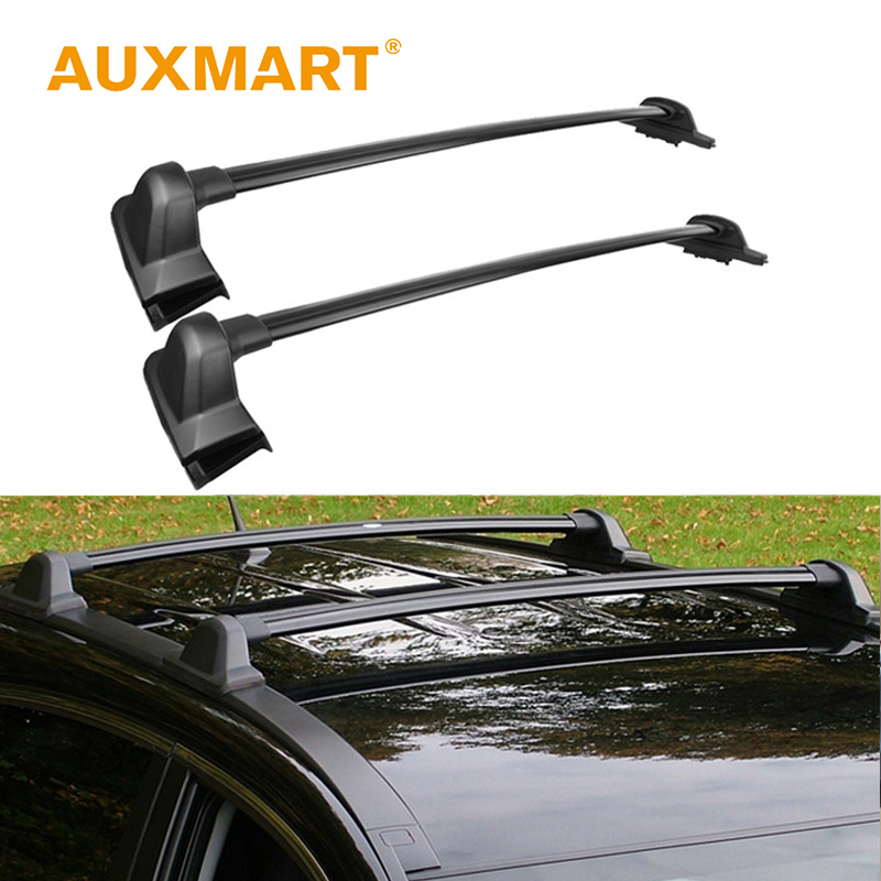 Auxmart <font><b>Car</b></font> Roof Rack for Honda CRV 2007~2011 Auto Top Roof Boxes Racks Cross Bar Load Cargo Luggage Carrier Bike 132LBS/60kg