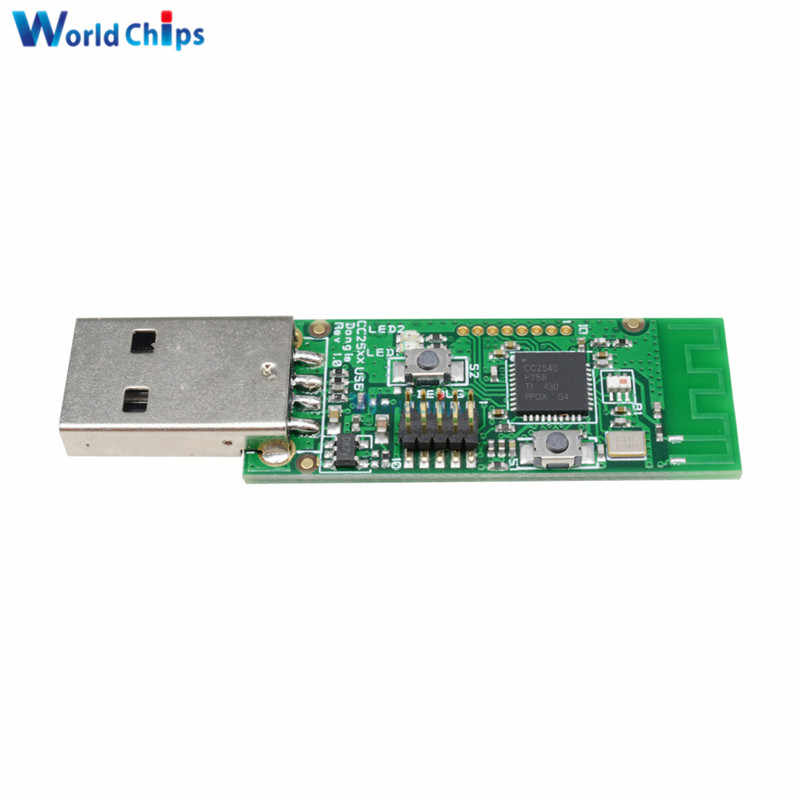Bluetooth 4 0 BLE CC2540 USB Protocol Analysis BTool Packet Sniffer Board  Debug Pin 1Mbps Module