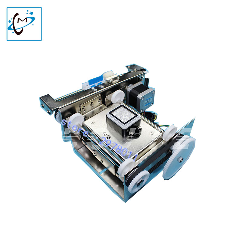 UV flatbed printer single head capping pump assembly dx5 ink stack for zhongye thunderjet human licai titanjet printer part hot sale uv flatbed plotter printer spare parts gongzheng gz thunderjet black sub ink tank with level sensor