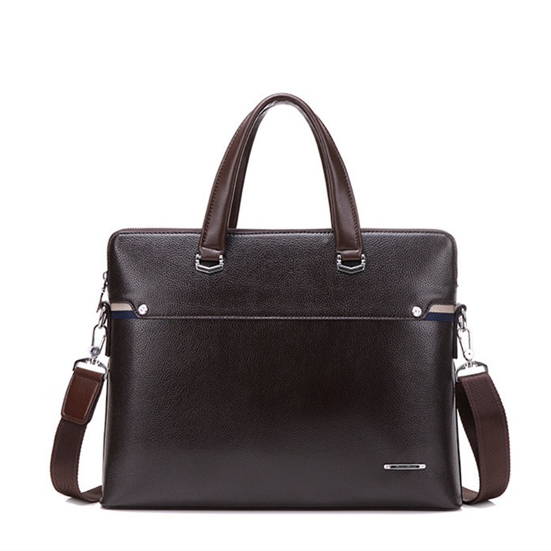 2016 Brands Genuine Leather Laptop bag Briefcase Messenger Shoulder bag Men Leather Business Travel Casual Notebook Tablet bag