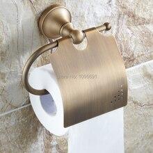 MAIDEER античная держатель туалетной бумаги медь бумажное полотенце держатель рулона держатель ткани коробка ткани ванная комната аппаратных