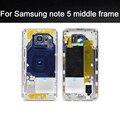 Высокое Качество Ближний Рамка Для Samsung Galaxy Note 5 N920 Середина Рамка Металлический Каркас Корпуса Шасси запасных частей телефона