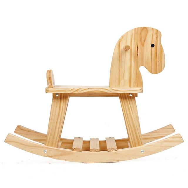 Caballo de troya caballo de oscilación de madera juguetes para niños ...