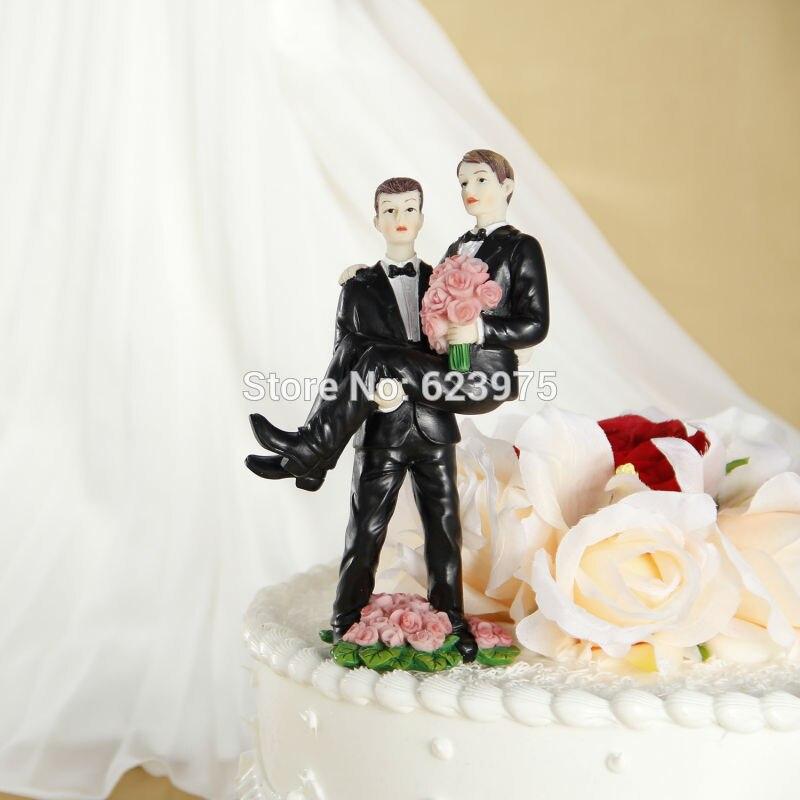 gay wedding figurine cake topperchina mainland - Figurine Mariage Gay