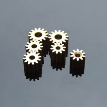 Factory Sell 165A Copper Gears 0.5M 16 Tooth 4.97mm Shaft Hole for 755/ 775 Motor Spindle Axis Gear