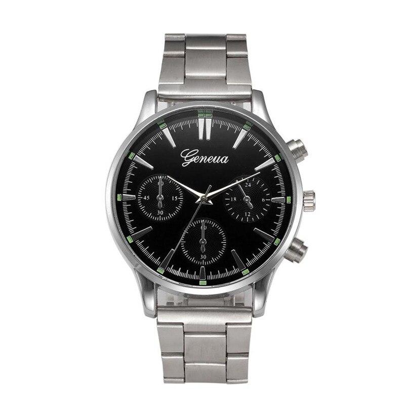 Hot Selling2017 Newly Designed Fashion Women Crystal Stainless Steel Analog Quartz Wrist Watch Bracelet Gift OCT 27#1115