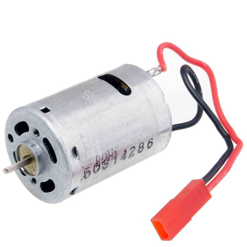 RC 380 Electric Motor 7 2V Engine JST Plug For 1 18th Remote Control Car Replacement
