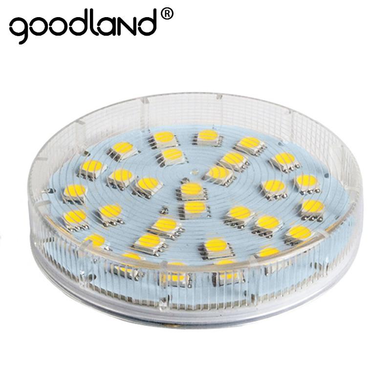 GX53 LED Cabinet Lamps SMD 5050 7W Lampada LED Light Bulb AC 220V 230V 240V High Brightness Bombillas GX53 LED Lamp