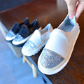 Классический дизайнер shoes известные дети эспадрильи weave кроссовки для детей кожаный ботинок плоским лук bling блеск носок chaussure