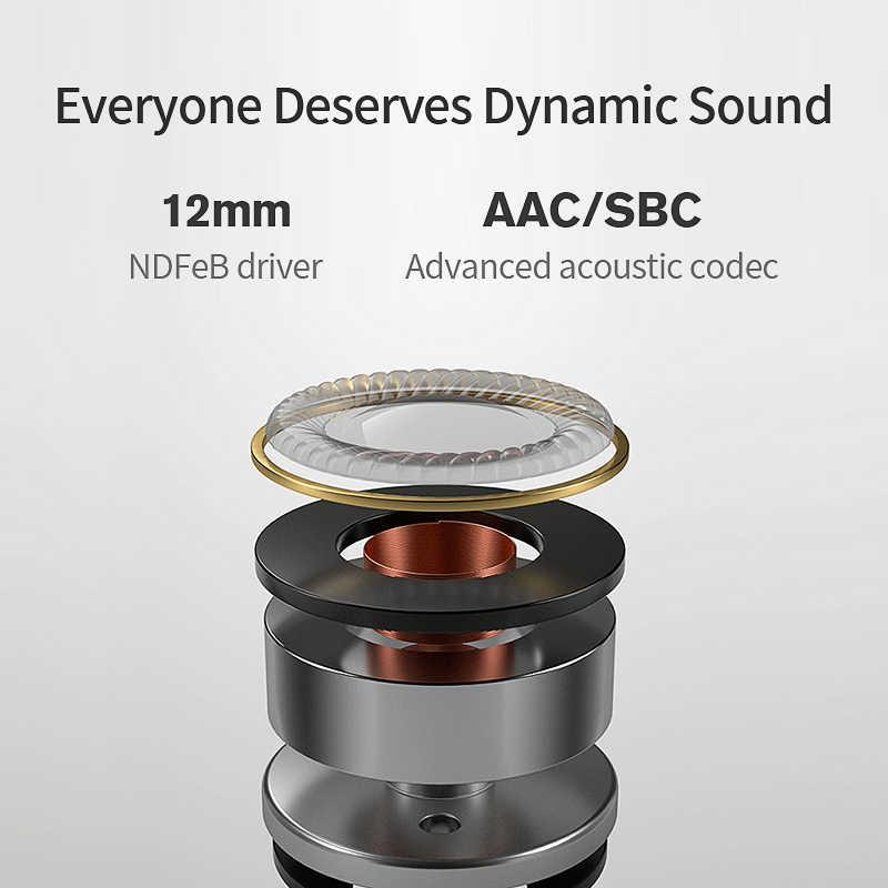 QCY L2, беспроводные наушники, IPX5, водонепроницаемые, ANC, с шумоподавлением, беспроводные наушники, Bluetooth 5,0, спортивные наушники с микрофоном