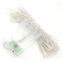 Warm White 50 LED Battery String Light Lamp Fairy Christmas Wedding Party