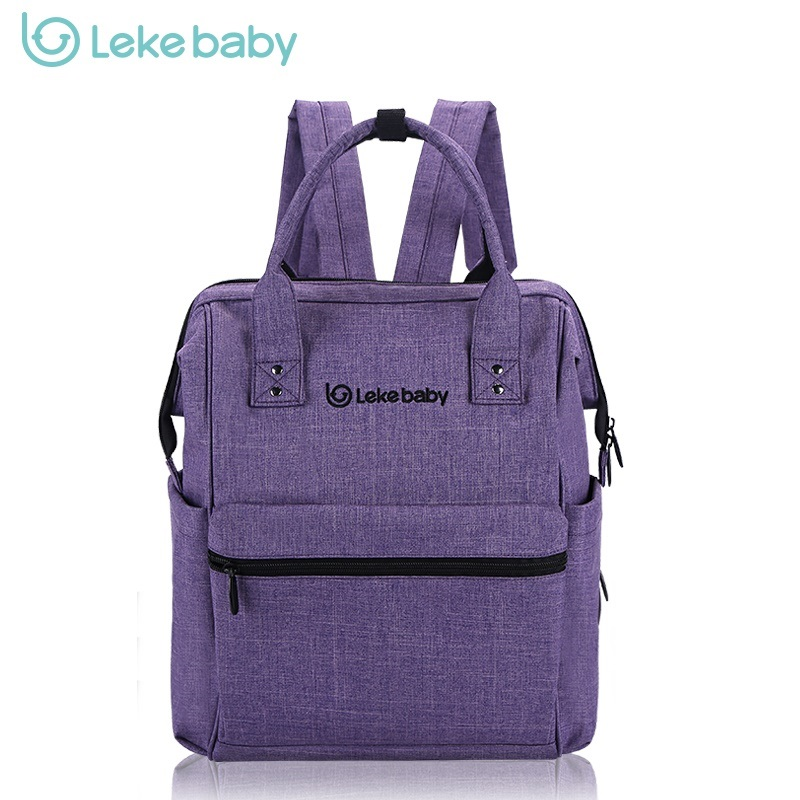 leke brand baby bag fashion nappy bags diaper bag backpack maternity bags for mother handbag baby nappy backpack large size - Baby Diaper Bags