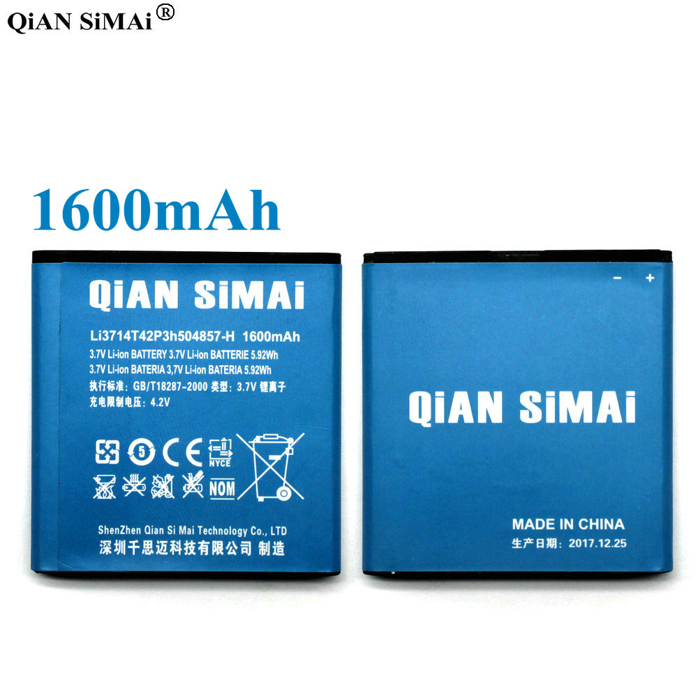 Qian Simai Li3714t42p3h504857 H 1600mah Battery For Zte U880s U788 Homtom Ht17 Journey From The First Circuit Board To Delivery V6700 V788d U812 N788 U830 Beeline Smart2 Phone